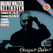 Beethoven: Symphonies nos 7, 8 / Bruno Walter, Columbia SO