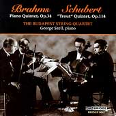Brahms, Schubert: Quintets / Szell, Budapest String Quartet