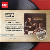 Brahms & Dvorak: Violin Concertos / Itzhak Perlman