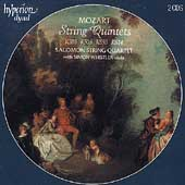 Mozart: String Quintets / Salomon Quartet, Whistler