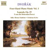 Dvorák: Four-Hand Piano Music Vol 1 / Matthies, Köhn