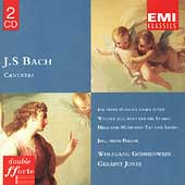 Bach: Cantatas - Ein feste Burg, etc / G&ouml;nnewein, Jones