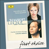 Schubert: Lieder with Orchestra / Anne Sofie von Otter, Thomas Quasthoff. Abbado, CO of Europe