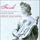 Johann Friedrich Fasch: Overtures and Concerto in D & Sonatas for Oboes and Bassoon / Glaetzner; Goritzki, Klepel, Schornscheim