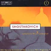 Shostakovich: Symphony no 7 / Wigglesworth, BBC NO of Wales