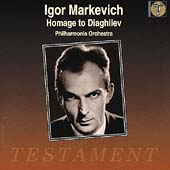 Homage to Diaghilev / Igor Markevich, Philharmonia Orchestra
