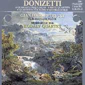 Donizetti: 4 Flute Quartets / Petrucci, Kodaly Quartet