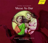 Schubert: Mass in A major D.678 / Donna Brown, Monica Groop, James Taylor, Michael Volle. Helmuth Rilling