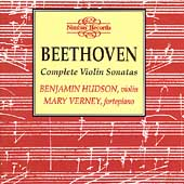 Beethoven: Complete Violin Sonatas / Hudson, Verney
