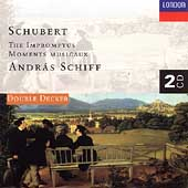 Schubert: The Impromptus, Moments Musicaux / Andr&aacute;s Schiff