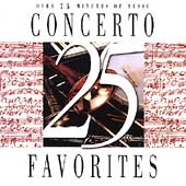 25 Concerto Favorites