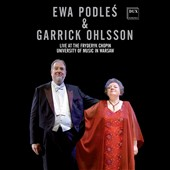 Ewa Podles & Garrick Ohlsson: Live at the Frédéric Chopin University of Music, Warsaw - Prokofiev, Mussorgsky & Rachmaninov / Ewa Podles, contralto; Garrick Ohlsson, piano [DVD]