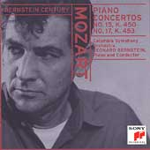Bernstein Century - Mozart: Piano Concertos no 15 and 17