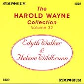 The Harold Wayne Collection Vol 32 - Walker, Wildbrunn