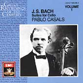 Bach: Suites for Cello Solo nos 1-3 / Pablo Casals