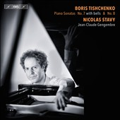 Boris Tishchenko (1939-2010): Piano Sonatas No. 7 (with bells) & No. 8 / Nicolas Stavy, piano