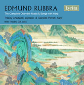 Edmund Rubbra (1901-1986): The Complete Chamber Music & Songs with Harp / Tracey Chadwell, soprano; Danielle Perrett, harp; Timothy Gill, cello