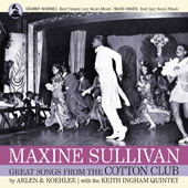 Marty Grosz/Maxine Sullivan/Harold Arlen: Maxine Sullivan: Great Songs from the Cotton Club *