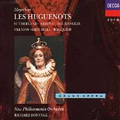 Meyerbeer: Les Huguenots /Bonynge, Sutherland, Arroyo, et al