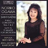 Saint-Sa&#235;ns: Piano Concertos no 1 & 2 / Ogawa, Kantorow, etc