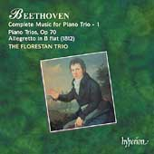 Beethoven: Complete Music for Piano Trio 1 / Florestan Trio