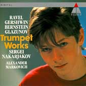 Ravel, Gershwin, Bernstein, Glazunov / Nakarjakov, Markovich