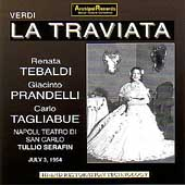 Verdi: La Traviata / Serafin, Tebaldi, Prandelli, et al