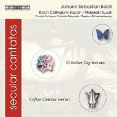 Bach: Secular Cantatas Vol 1 / Suzuki, Sampson, et al