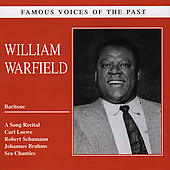Famous Voices of the Past - William Warfield