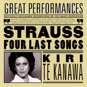 R. Strauss: Four Last Songs, etc / Te Kanawa, Davis