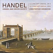 Handel: Concerti Grossi Op 3 & 6 / Hogwood, et al