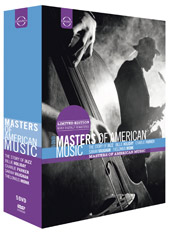 Masters of American Music / Charlie Parker, Billie Holiday, Thelonioius Monk [5 DVD]
