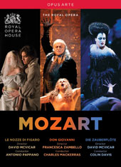 Mozart: Don Giovanni; Marriage of Figaro; Magic Flute / Keenlyside, DiDonato, Roschmann, Ketelsen, et al.; Orchestra & Chorus of the Royal Opera House [5 DVD]