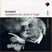 Schubert: Symphonies Nos. 1 & 4