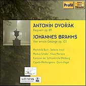 Dvor&aacute;k: Requiem;  Brahms / Mertens, Hagel, et al