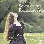 Songs of the Romantic Age / Bedi, Sobol
