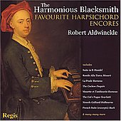 The Harmonious Blacksmith - Favorite Harpsichord Encores / Aldwinckle