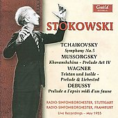 Mussorgsky, Tchaikovsky, Wagner, etc / Stokowski, Frankfurt RSO, et al