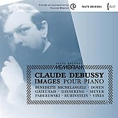 Debussy: Images for Piano / Arrau, Benedetti Michelangeli, Doyen, et al