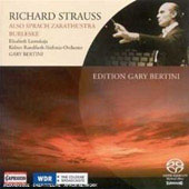 Strauss: Also Sprach Zarathustra, Burleske / Gary Bertini, Elisabeth Leonskaja