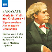 Sarasate: Music for Violin and Orchestra, Vol 1 / Ernest Martínez Izquierdo