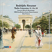Rodolphe Kreutzer: Violin Concertos 15, 18 & 19