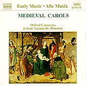 Early Music - Medieval Carols / Summerly, Oxford Camerata