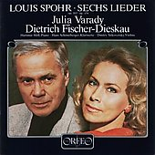 Spohr: Lieder / Varady, Fischer-Dieskau, H&#246;ll