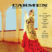 Bizet: Carmen Highlights / Beecham - French Nat'l Rso