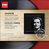 Mahler: Kindertotenlieder; Gluck; Greene; etc. / Kathleen Ferrier, Gerald Moore