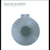 Pauline Oliveros (Composer): Reverberations: Tape & Electronic Music 1961-1970 [Box] *