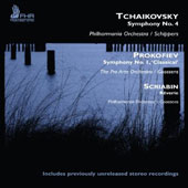 Tchaikovsky: Symphony No. 4; Prokofiev: Symphony No. 1 