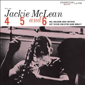 Jackie McLean: 4, 5 and 6 [Digipak]