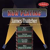 Now Playing - Bach, Brahms, Reynolds, Mays / James Thatcher